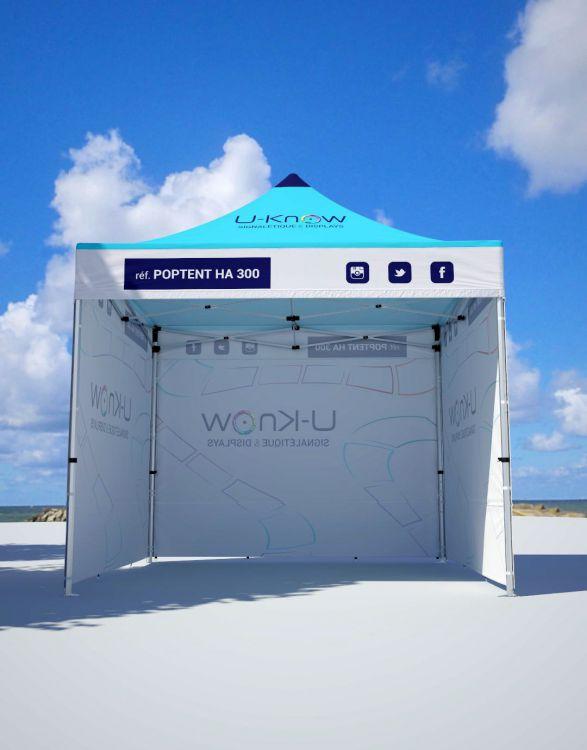 POPTENT HA 300  Tente aluminium 3x3m